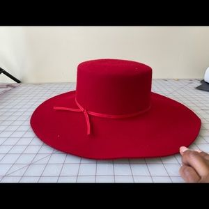 Ally Hat in Red Brixton Style No. BRIX-WH119